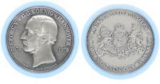 Hannover Königreich Medaille zum 100.Todestag Georg V., Silber 1000, 25g  48697