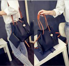 Women's Leather Backpack Rucksack School Travel Bag Satchel Ladies Handbags