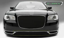 Grille-2015 Chrysler 300 Sports Series Bumper Black Grille fits 2015 300