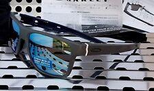 New Oakley 9361-0957 CROSSRANGE Sunglasses Matte Gray w/Deep h2o Prizm Polarized