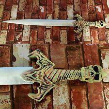 Unique Skull Demon Sword Foam Fantasy Medieval Viking LARP CosPlay Stage