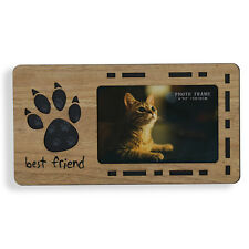 Cat Photo Frame | Freestanding wooden photo frame | Gift Idea