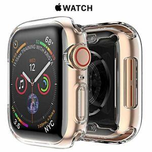 COVER per Apple Watch serie 6 5 4 3 2 1 CUSTODIA BUMPER SILICONE 44 42 40 38 mm