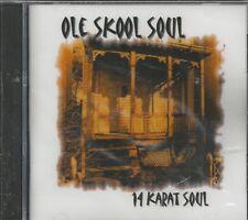 OLE SKOOL SOUL - CD - 14 Karat Soul - BRAND NEW