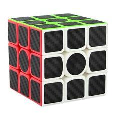 Didisky Cubo Rubik 3x3, Adesivo in Fibra di Carbonio, Versione 1 Pezzi, oro