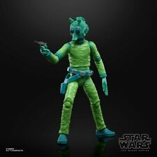 6 Inch 50th Anniversary Greedo Cantina Figure Star Wars Black Series TBS ..LOOSE