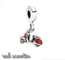 PANDORA Charm Sterling Silver ALE S925 RED SCOOTER 791140EN42