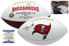 Jameis Winston Autographed SIGNED Buccaneers Logo Football - Beckett w/ Photo