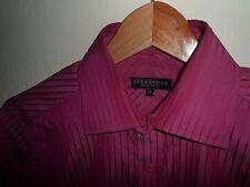 "VGC* Medium ALEXANDRE SAVILE ROW London Mens Pink Stripe Shirt SIZE MEDIUM 15"""