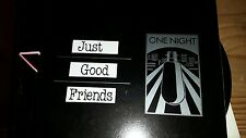 "JUST GOOD FRIENDS .. ONE NIGHT 12"" LP"