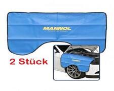 2x MANNOL Kotflügel Schoner Karosserieschutz Schutz Abdeckung blau magnetisch