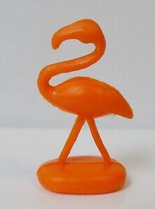 Orange Yard Flamingo Miniatures (Set of 100) Fairy Garden Fun