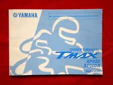 GENUINE 2008 YAMAHA TMAX XP500 XP500A T-MAX OWNERS MANUAL 4B5-28199-E2 2009