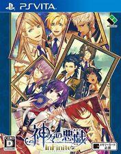 NEW PSV Kamigami no Asobi InFinite from Japan PS Vita Game from Japan