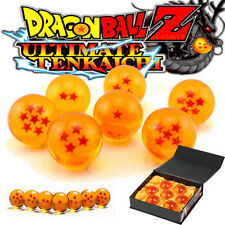 7 PCS JP Anime Dragon Ball DragonBall Z Stars Crystal Diameter Ball Set Gift NEW