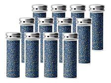 12 Super Coarse Pedicure Refill Rollers Comp/w Emjoi Micro-Pedi Callus Remover