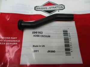 Briggs & Stratton 596163 Vacuum Hose Valve Cover Genuine