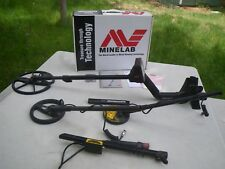 Minelab Explorer SE Metal Detector With Pro Coil NICE Deep Silver