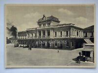 PADOVA Stazione ferroviaria TRAM tramway vecchia cartolina