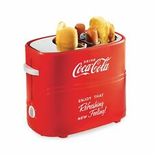Nostalgia HDT600COKE Coca-Cola Pop-Up Hot Dog Toaster Red One Size