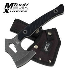 Full Tang Heavy Duty Tactical Survival Axe Throwing Tomahwak Hawk Hatchet W/Case