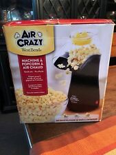 West Bend Air Crazy Hot Air Popcorn Machine 110V - Excellent Used Condition