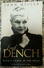 Judi Dench With a Crack in Her Voice FREE AUS POST good used cond PB 2002
