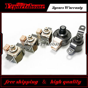 5pcs 4F50N AXODE AX4S AX4N Transmission Solenoid Kit For Ford 97-UP Tcc Epc