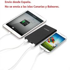 10000mAh Batería Externa Cargador Portátil Móvil Smartphones Android Carga ES