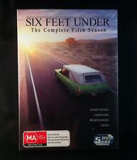 Six Feet Under - Complete Fifth Season - 5 Disc Box Set - New - DVD Region 4