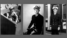 John F. Kennedy PHOTO Lot, Military Navy Pics 3 Photos, Lieutenant World War 2