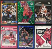Lot of (6) Pascal Siakam, Including Road/Finals /2019, Prestige RC, Rookie Kings