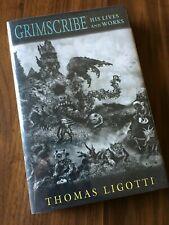 Grimscribe by Thomas Ligotti, SIGNED 1st Edition, Subterranean Press
