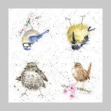 Wrendale Country Set Paper Napkins Garden Birds