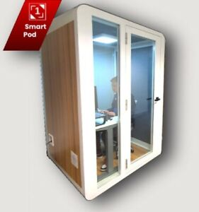1Smart-Pod Furnished And Equipped With Smart Essentials