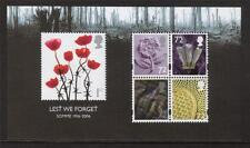 GB MNH 2006 MS2685 LEST WE FORGET - 90TH ANV BATTLE OF THE SOMME MINISHEET