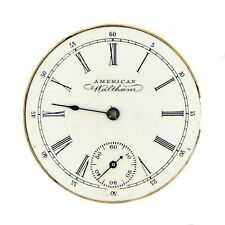 Vintage American Waltham Watch Co. Movement Safety Barrel 5470078 White 30mm