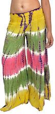 Wholesale 10 pcs Tie Dye harem Pants for Women assorted colors