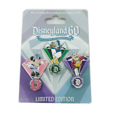 Disneyland 60th Diamond Minnie Donald Mr. Toad Trading Board Game Completer Pin