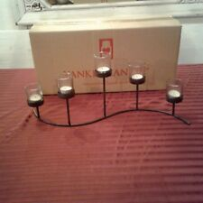 New Yankle Candle 5 candle holder, dark brown, usable with any season.