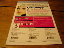 GOLDFRAPP !!TRAIN!!!!!!!!!!!!!!!!!RARE FRENCH PRESS/KIT