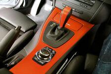 VVIVID XPO 2ft x 5ft Orange vinyl 3D carbon fiber matte 3Mil car wrap decal