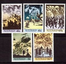 AUSTRALIA 1990 Anzac Tradition 75th anniv set MUH