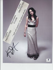 Kristen Stewart signed 8x10 COA GAI
