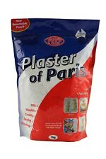 Plaster of Paris - ideal for making moulds, casting and sculpting