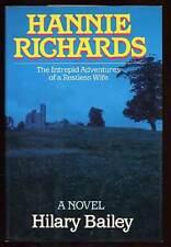 Hilary BAILEY / Hannie Richards First Edition 1985