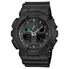Casio GA-100MB-1AER Mens G-Shock Matt Black Resin Strap Watch RRP £110