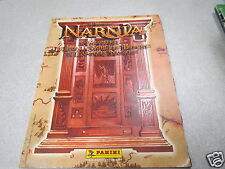 ALBUM PANINI : LE MONDE DE NARNIA chapitre 1 le lion manque 68 images *
