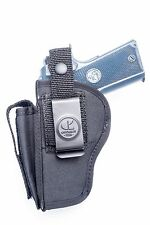 Colt Defender Series 90 45ACP | Nylon OWB Gun Holster with Mag Pouch. USA MADE