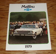 Original 1979 Chevrolet Malibu Sales Brochure 79 Chevy